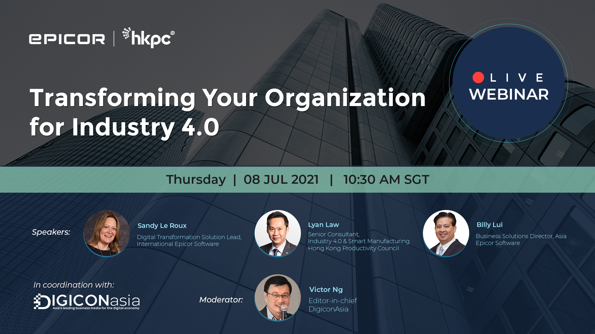Transforming Your Organization for Industry 4.0