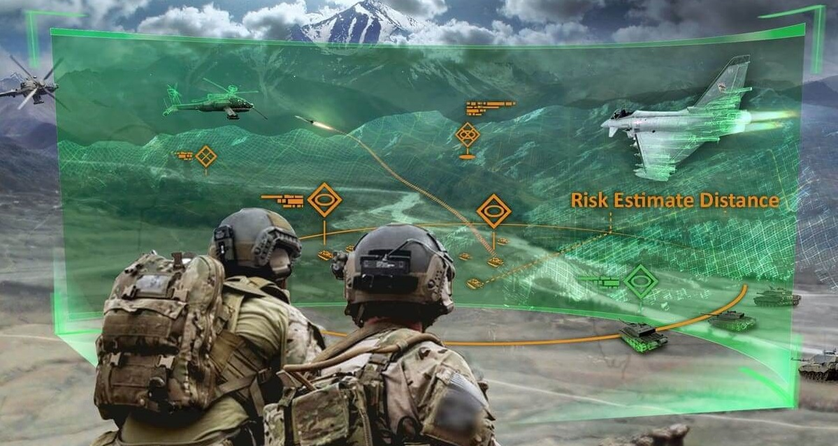 Come rain or shine or pandemic, military training must go on…
