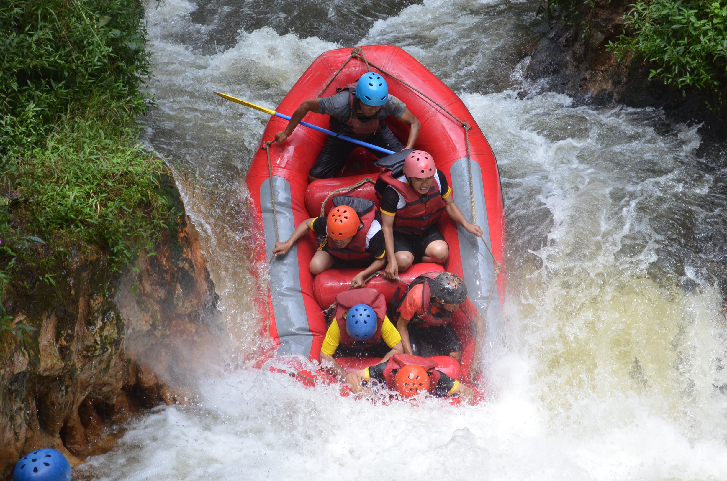 Adrenaline Rush At Rafting Pengalengan