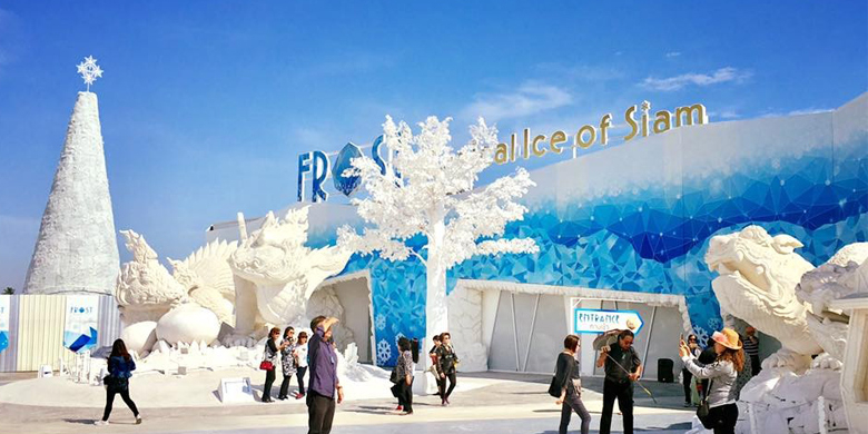 4D3N Open Trip Bangkok Pattaya Special Frost Magical Ice Tour