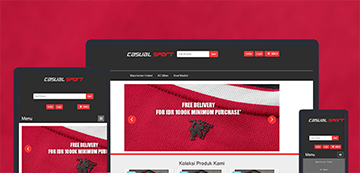 casualsport template store