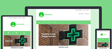 farmashop template store