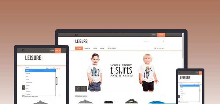 leisure template store