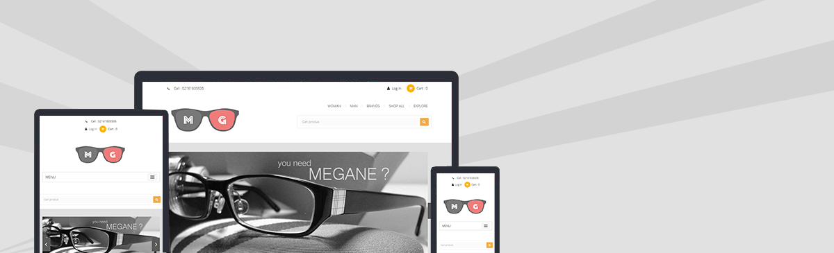 meganeshop template store