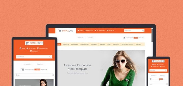 simpleone template store