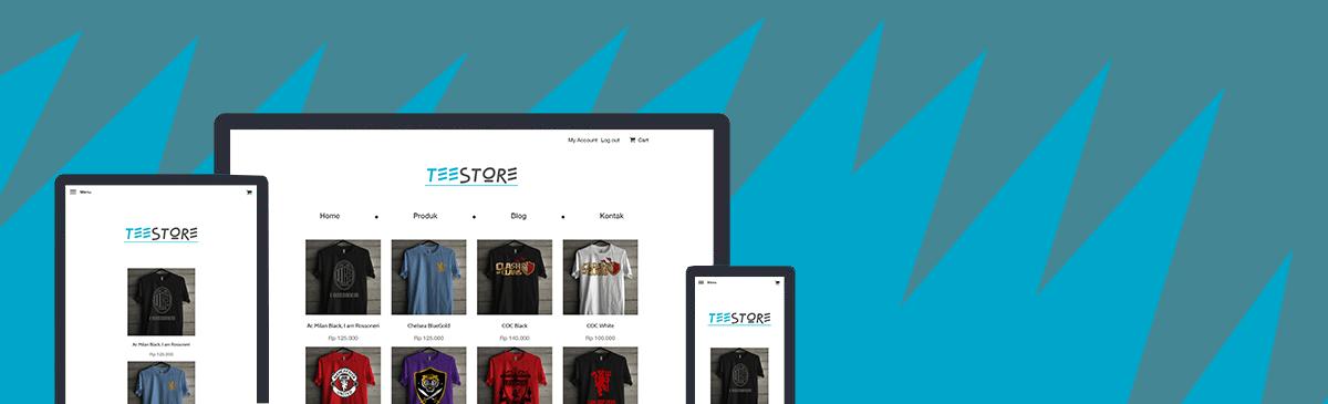 teestore template store
