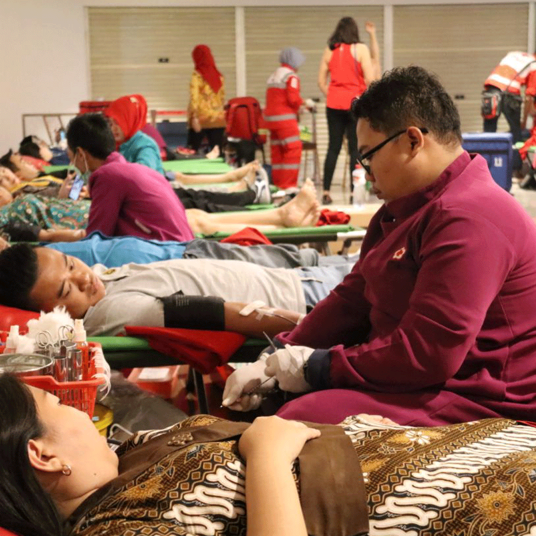 """Share Our Heart Blood Donation""  (Corporate Social Responsibility)"