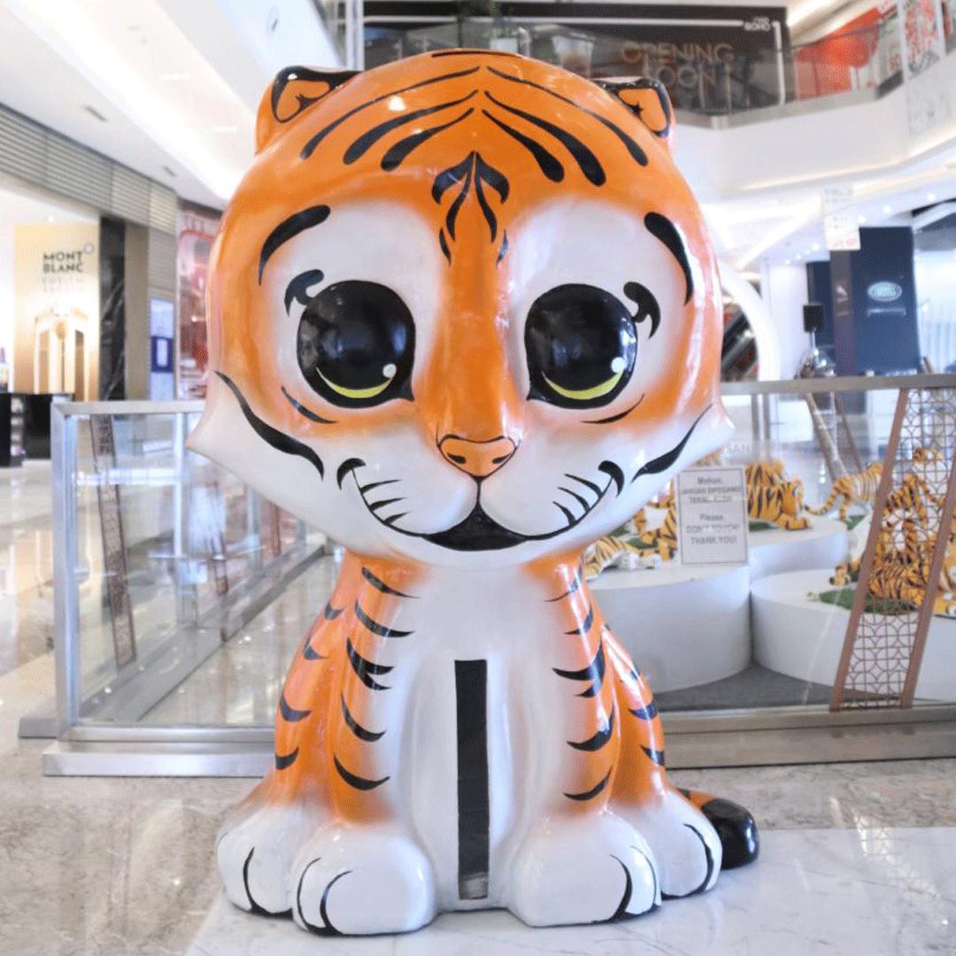 Ajak Publik Tepuk Tangan 30 Kali #30Claps untuk Selamatkan Harimau Sumatera