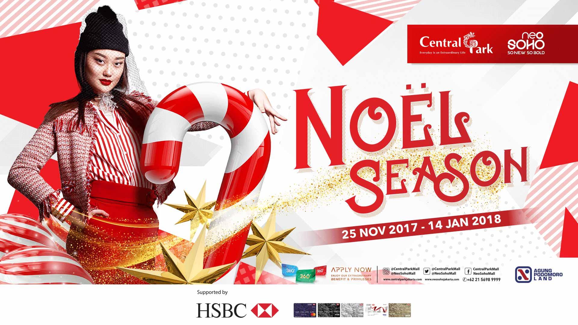 NOEL SEASON: Rayakan Hari Natal dan Libur Akhir Tahun