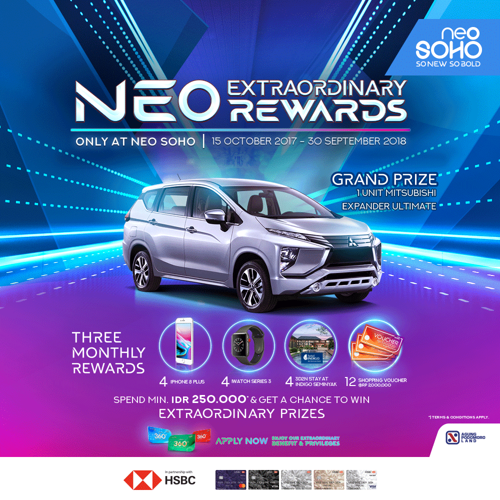 NEO EXTRAORDINARY REWARDS