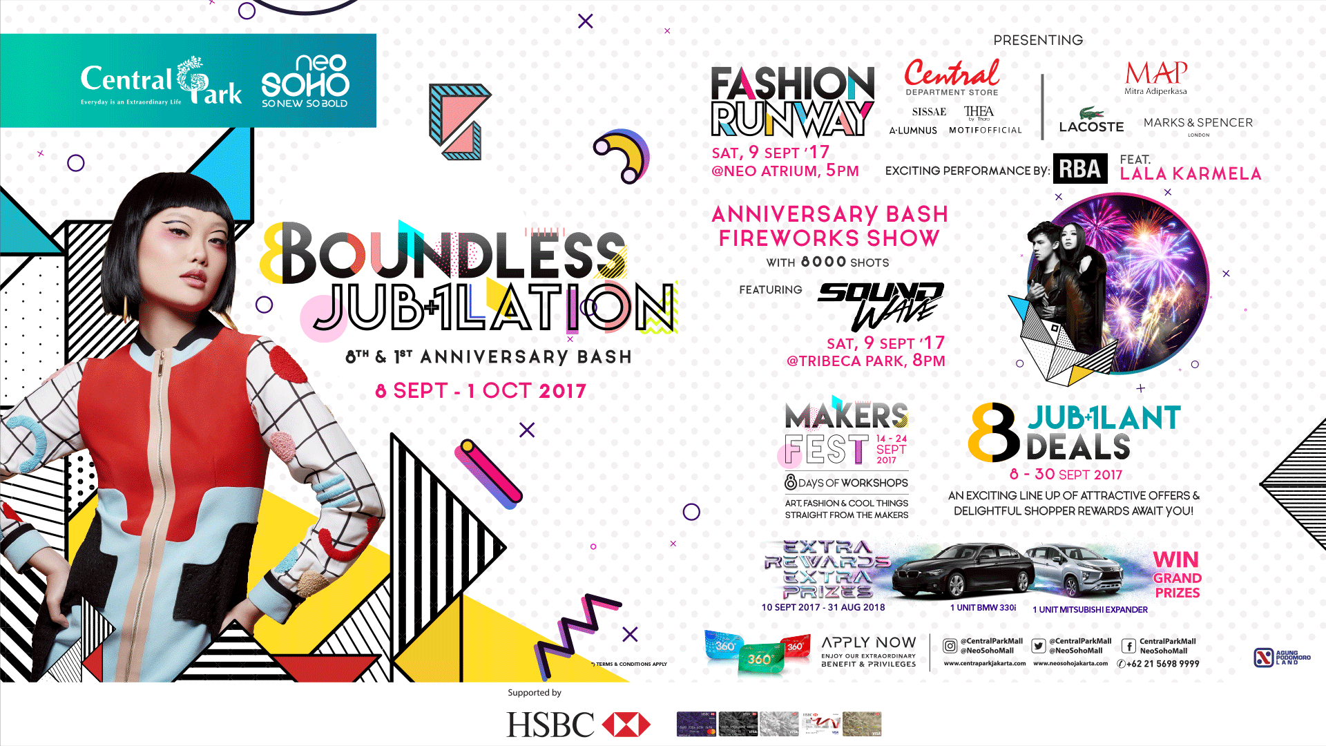 1st & 8th ANNIVERSARY BASH NEO SOHO and CENTRAL PARK MALL