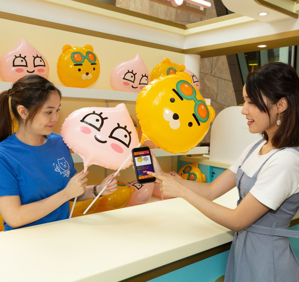 """Traveling with Kakao Friends at our brand-new """"hotel""""? In this summer, the hugely popular Korean cartoon characters Kakao Friends run the first-in-Hong Kong """"Friends Summer Hotel"""" at Langham Place Mall."""