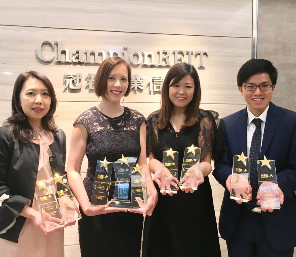 Another milestone for Champion REIT! We triumph a total of nine accolades at Hong Kong Investor Relations Association (HKIRA) 5th IR Award - Mid Cap Category