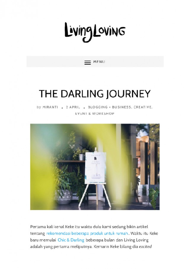 Living Loving Blog