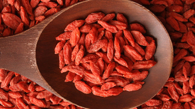 The Amazing Health Benefits of Goji Berries. Image Size:400x225px