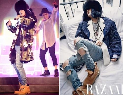 Sơn Tùng MTP được cho là đạo phong cách G-Dragon của Big Bang