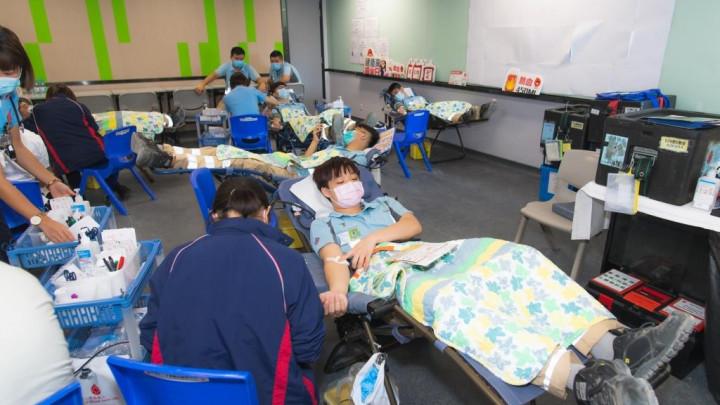 建造業捐血日2020 - 香港建造學院上水院校-056