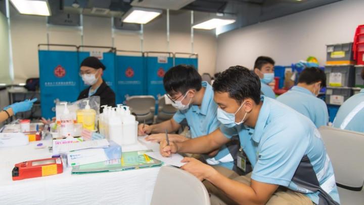 建造業捐血日2020 - 香港建造學院上水院校-037