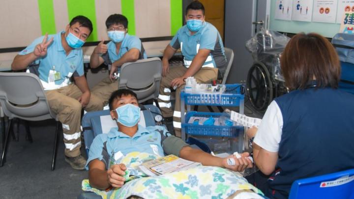 建造業捐血日2020 - 香港建造學院上水院校-027