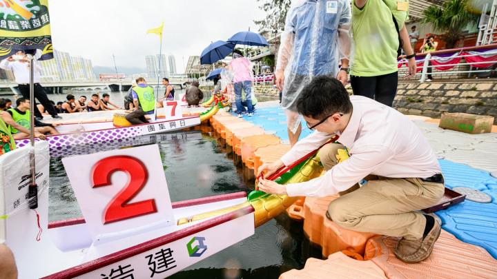 建造業議會魯班盃龍舟競賽2019點睛儀式-055