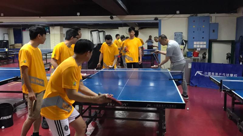 乒乓球訓練班(B班)