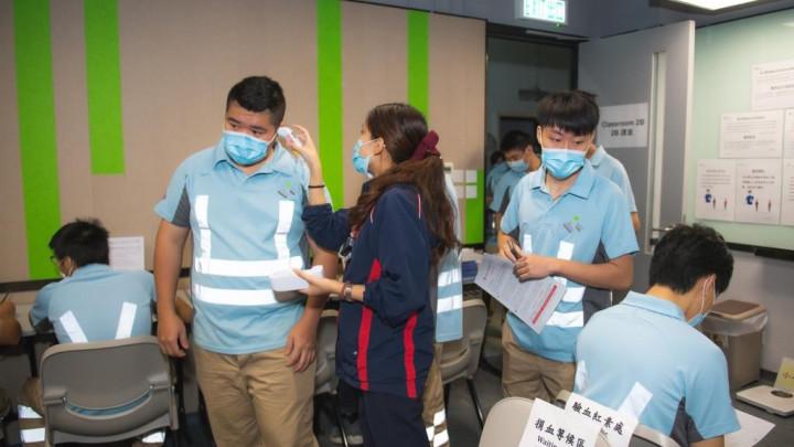 建造業捐血日2020 - 香港建造學院上水院校-004