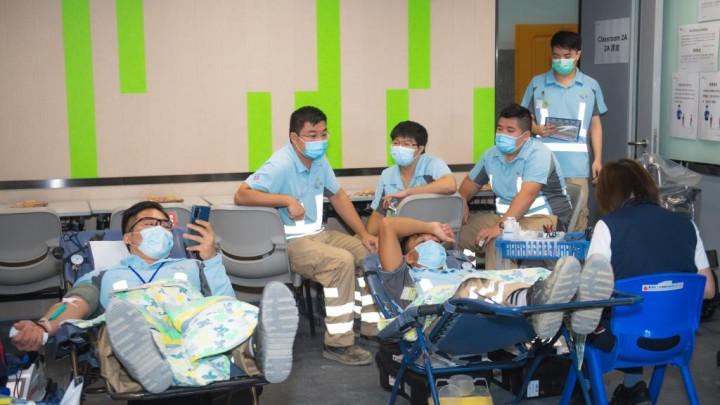 建造業捐血日2020 - 香港建造學院上水院校-028