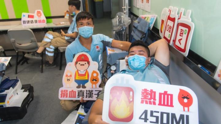 建造業捐血日2020 - 香港建造學院上水院校-042