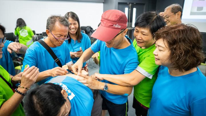 CISVP團體會員運動工作坊 - 運動貼布工作坊-115
