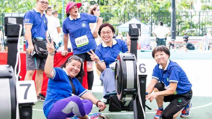 2018建造業運動會暨慈善同樂日 - 划艇機比賽-017