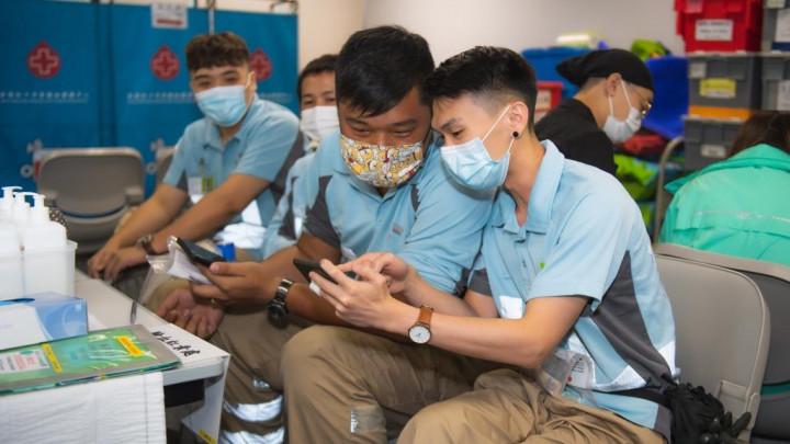建造業捐血日2020 - 香港建造學院上水院校-053