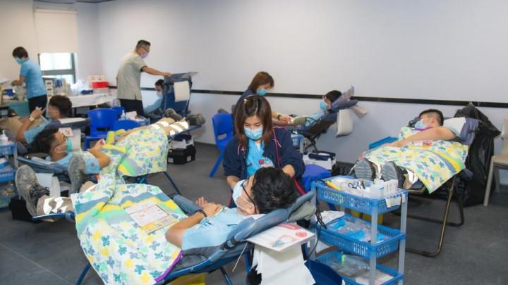 建造業捐血日2020 - 香港建造學院上水院校-064
