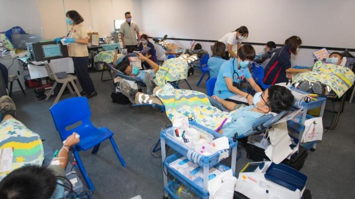 建造業捐血日2020 - 香港建造學院上水院校-054