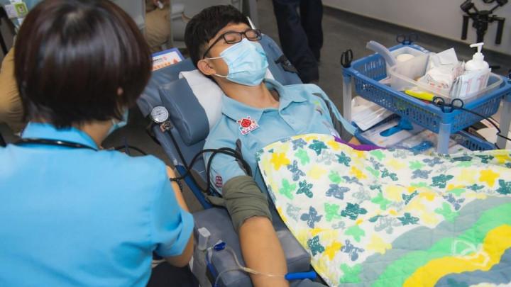 建造業捐血日2020 - 香港建造學院上水院校-058