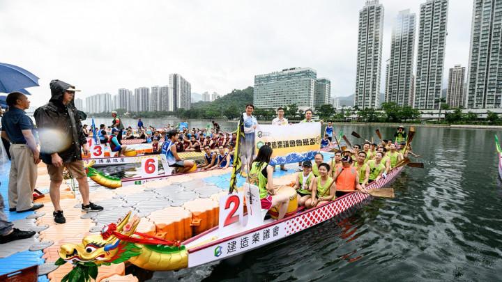 建造業議會魯班盃龍舟競賽2019點睛儀式-056