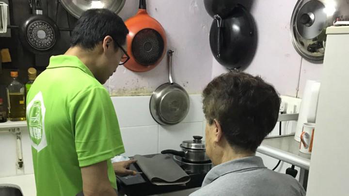 魯班服務日 - 關懷及探訪長者、低收入家庭
