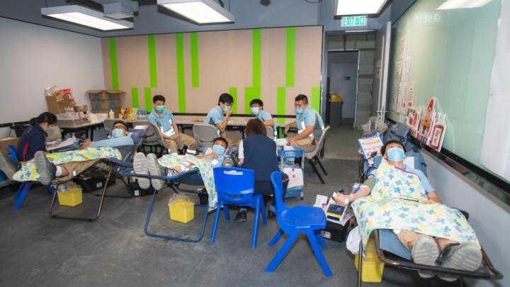建造業捐血日2020 - 香港建造學院上水院校-031