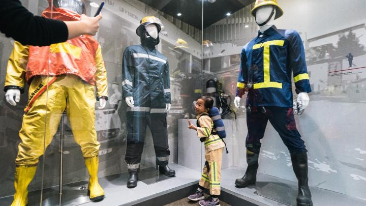 「消防及救護教育中心暨博物館」參觀-038