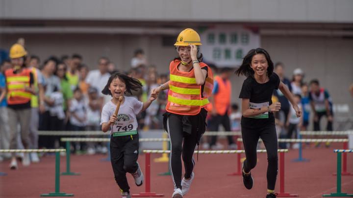 2017建造業運動會暨慈善同樂日 - 隊際遊戲 及 親子障礙賽