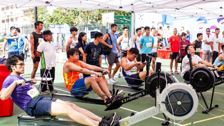 2018建造業運動會暨慈善同樂日 - 划艇機比賽-011