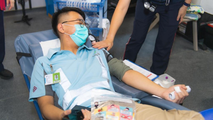 建造業捐血日2020 - 香港建造學院上水院校-051