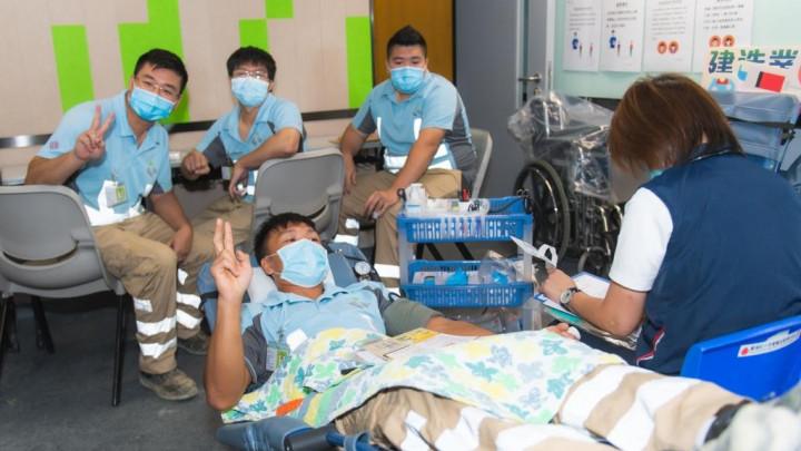 建造業捐血日2020 - 香港建造學院上水院校-026
