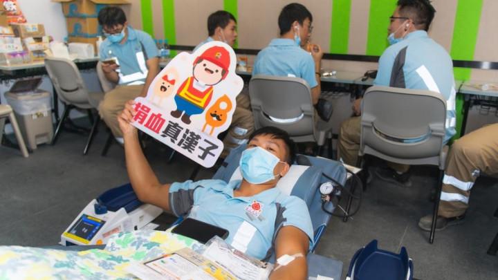 建造業捐血日2020 - 香港建造學院上水院校-038
