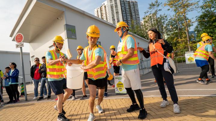 建造業開心跑暨嘉年華2020 - 突出隊型接力跑