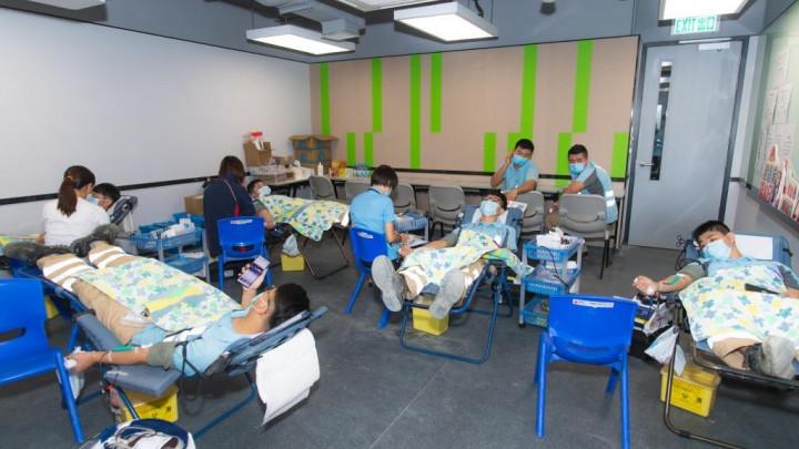 建造業捐血日2020 - 香港建造學院上水院校-055
