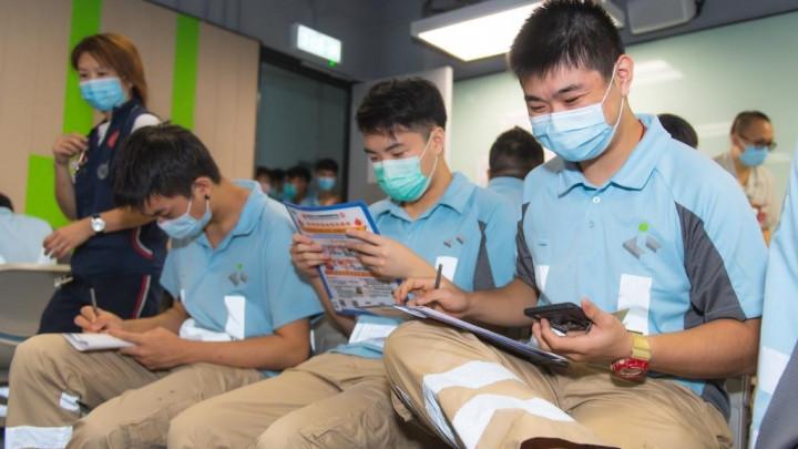 建造業捐血日2020 - 香港建造學院上水院校-017