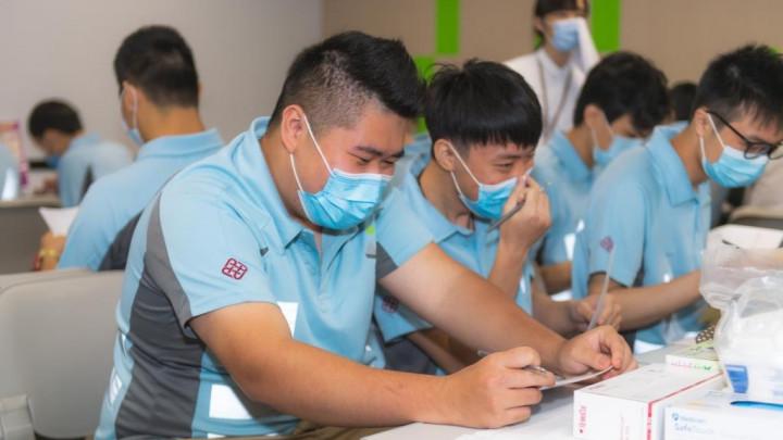 建造業捐血日2020 - 香港建造學院上水院校-005