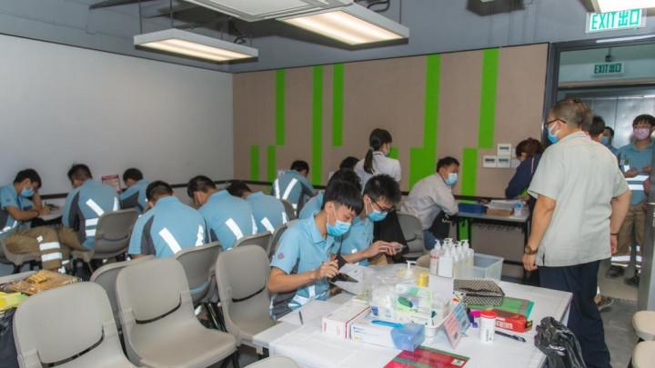 建造業捐血日2020 - 香港建造學院上水院校-006