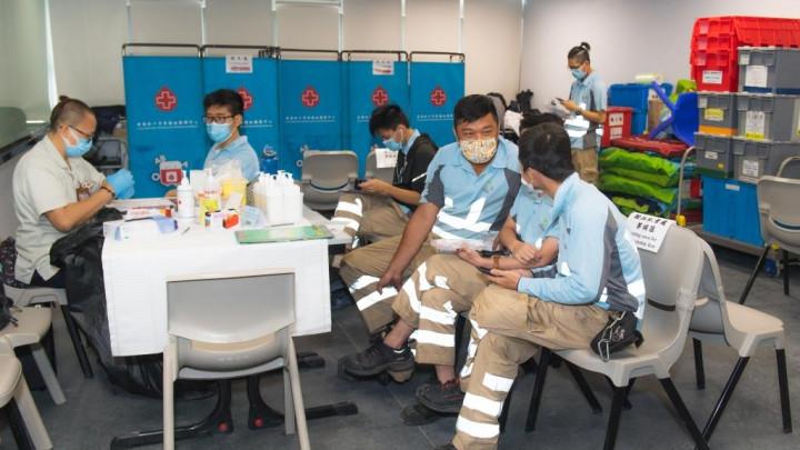建造業捐血日2020 - 香港建造學院上水院校-062