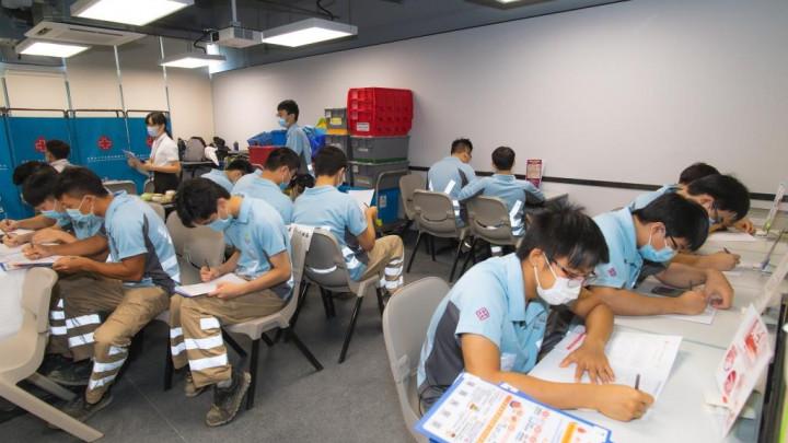 建造業捐血日2020 - 香港建造學院上水院校-010
